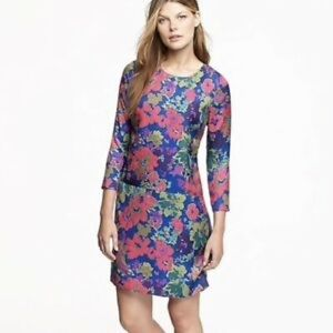 NWOT J. Crew Jules dress in Ashbury Floral Sz. 0